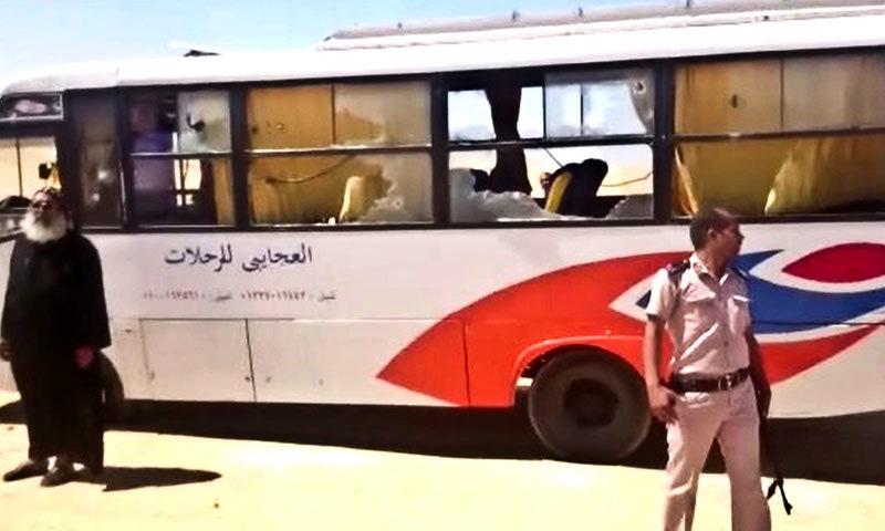 مصر:قبطی مسیحیوں کی بس پر حملے میں 23 افراد ہلاک