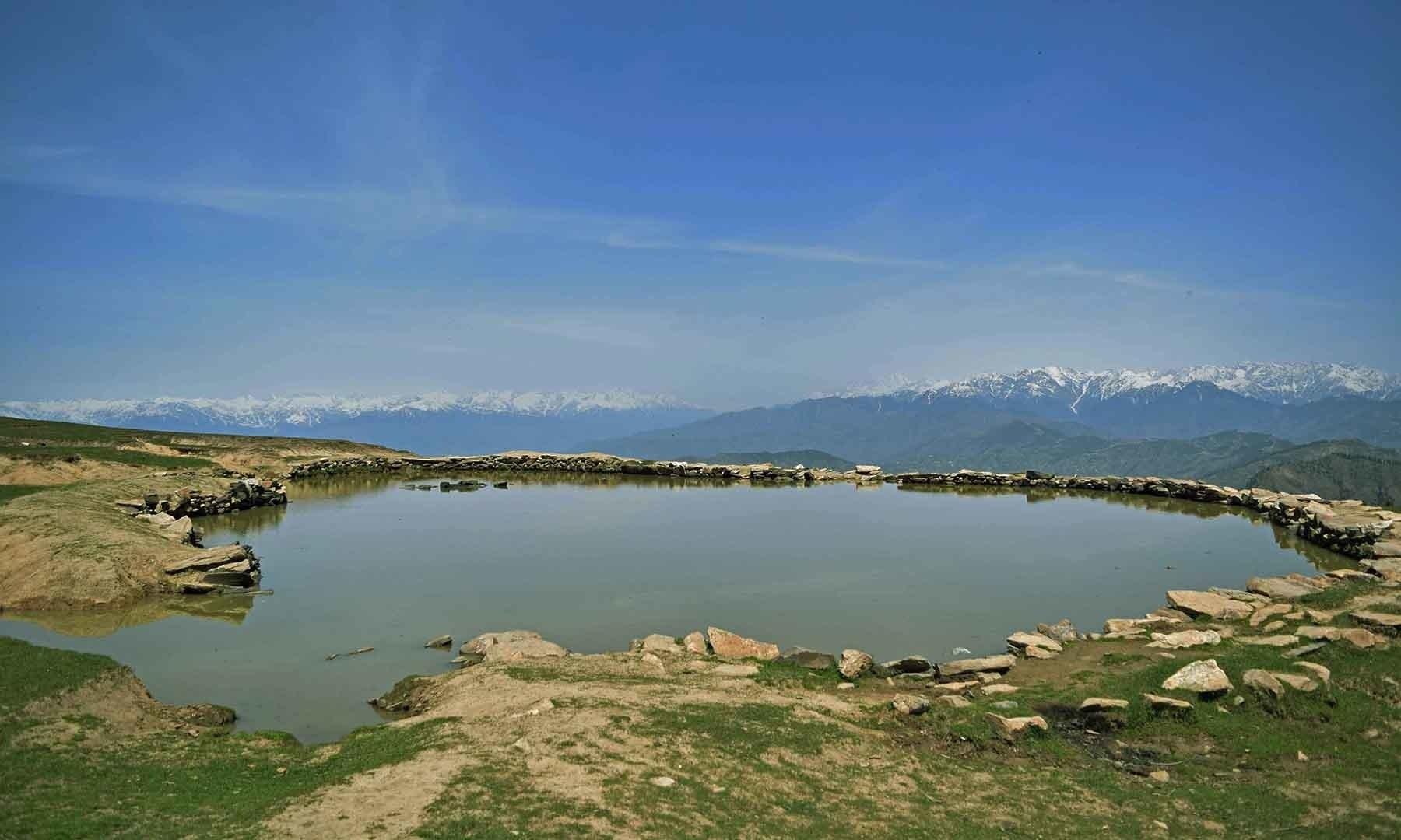 سرے شاہ سر جھیل: جہاں سکندرِ اعظم نے اپنی فوج منظم کی