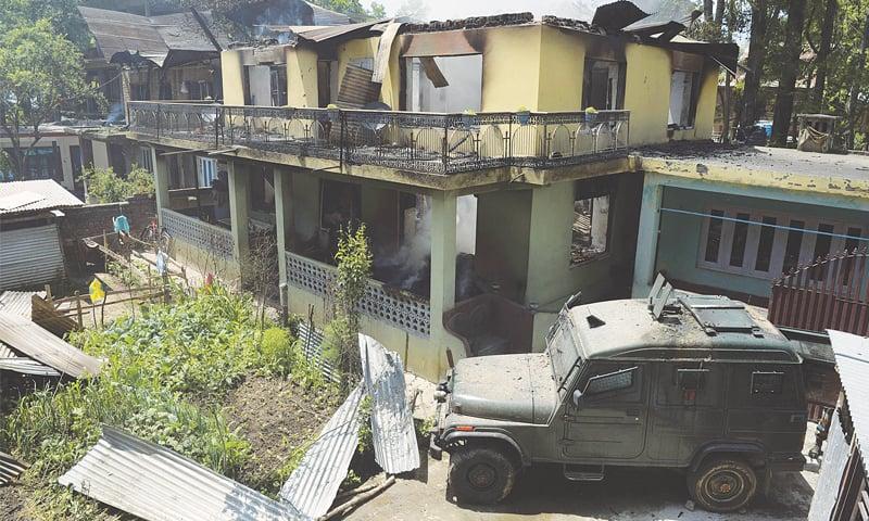 Protests hit held Kashmir after killing of militant leader