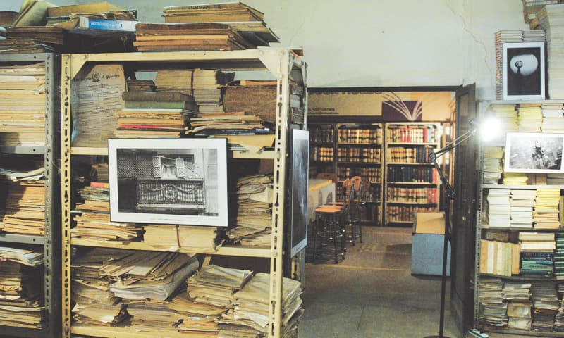 In the past, the bookshop did a roaring business for printed copies of tax forms | Photos by Tahir Jamal / White Star