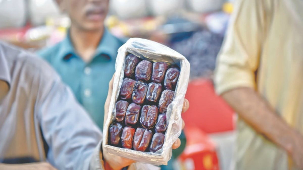 A box of soft, juicy Iranian dates. / Photos by Fahim Siddiqi / White Star