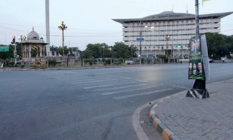 Heatwave, advent of Ramazan leave roads deserted