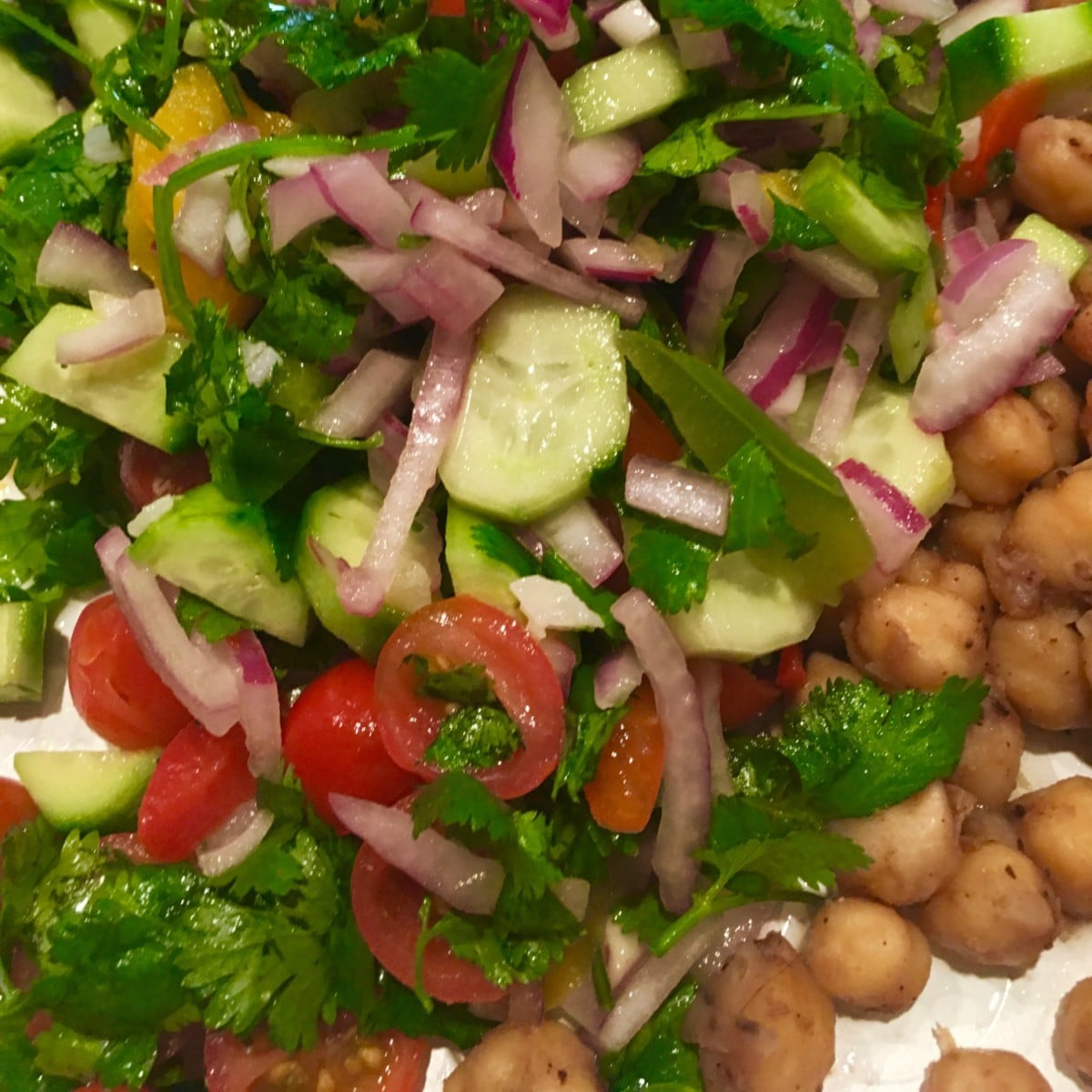 This salad is a great way to incorporate more veggies into your diet this Ramazan