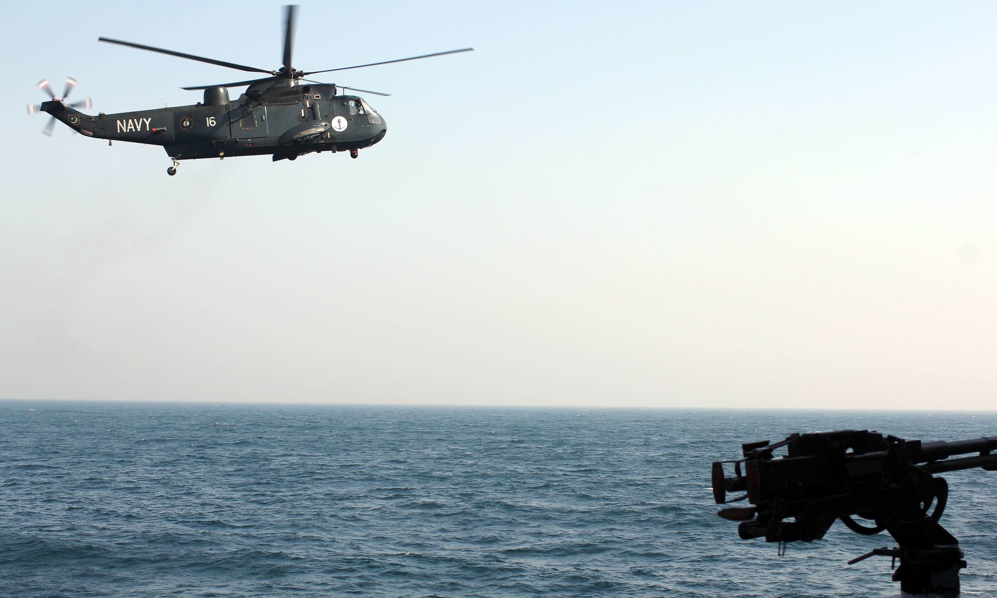 The Sea King helicopter is a multi-role helicopter. —Tauseef Mallick/File