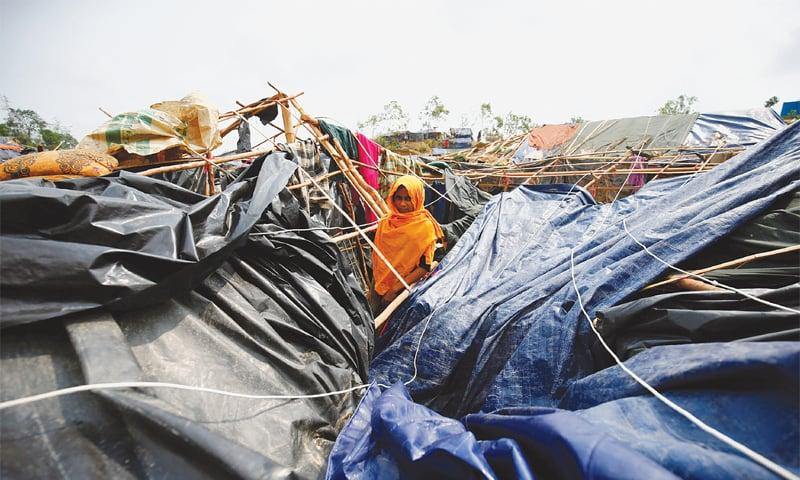 Rohingya refugees face 'acute crisis' in cyclone-hit Bangladesh