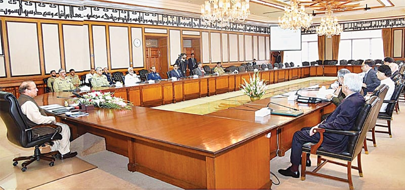 Top national security body reviews CPEC projects