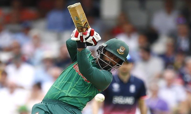 Bangladesh's Tamim Iqbal in action — Reuters