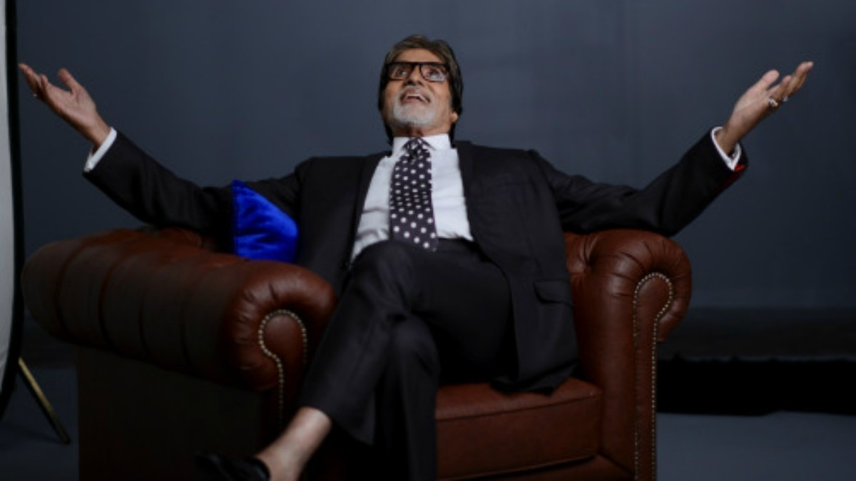 Bachchan also shared the official shoot for the upcoming show