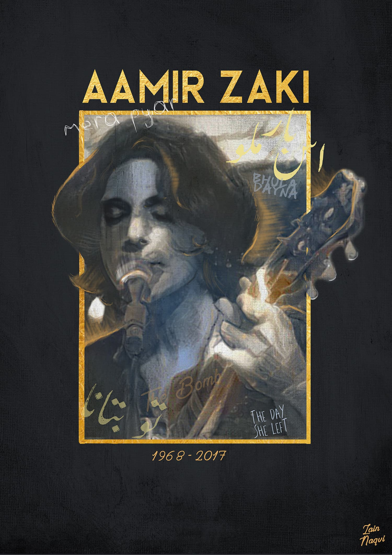 Artwork that I did to honour the maestro.