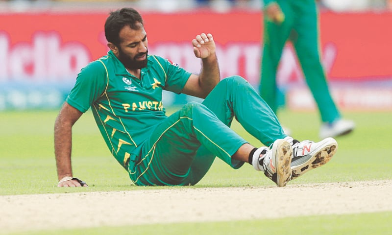 Injured Wahab  ruled out of Champions Trophy