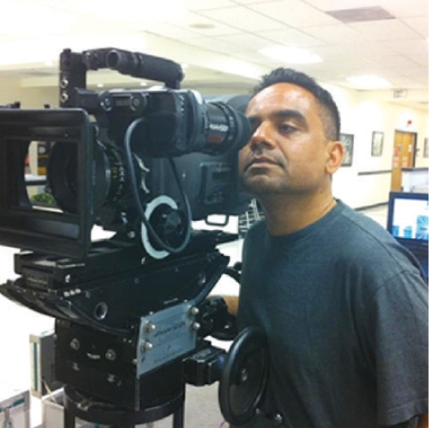 Pakistani-American film writer and director Dr Hassan Zee.