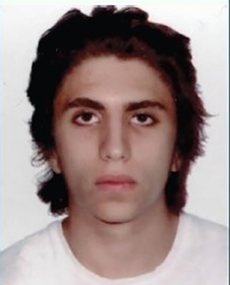 An undated handout picture released by the British Metropolitan Police Service in London on June 6, shows Youssef Zaghba, an Italian national of Moroccan descent, believed by police to be one of the three attackers in the June 3 terror attack on London Bridge.— AFP