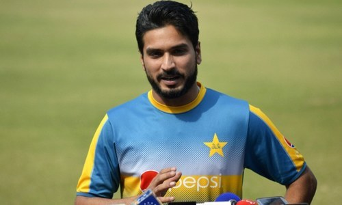 Rumman Raees says he has the dream of taking wickets of top batsmen. ─ PCB website