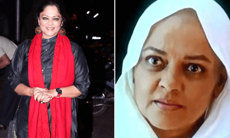 تنوی اعظمی نے باجی راؤ مستانی فلم کے لیے اپنے بالوں کی قربانی دی