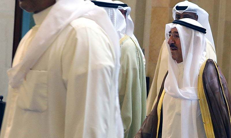 Kuwaiti emir leads efforts to ease ME crisis