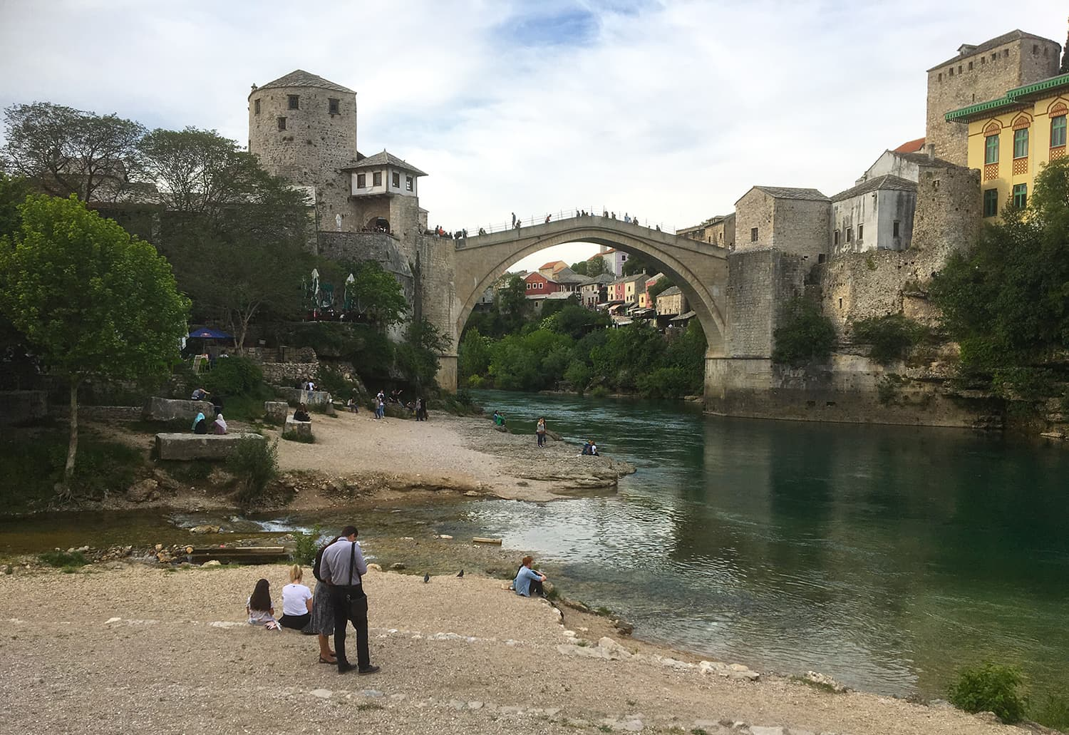 Stari Most bridge in Mostar is a UNESCO World Heritage site.