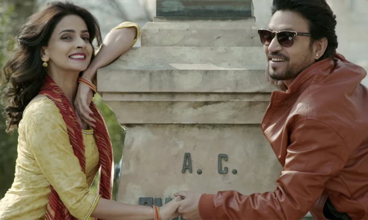 Saba Qamar and Irrfan Khan star as Mita and Raj Batra