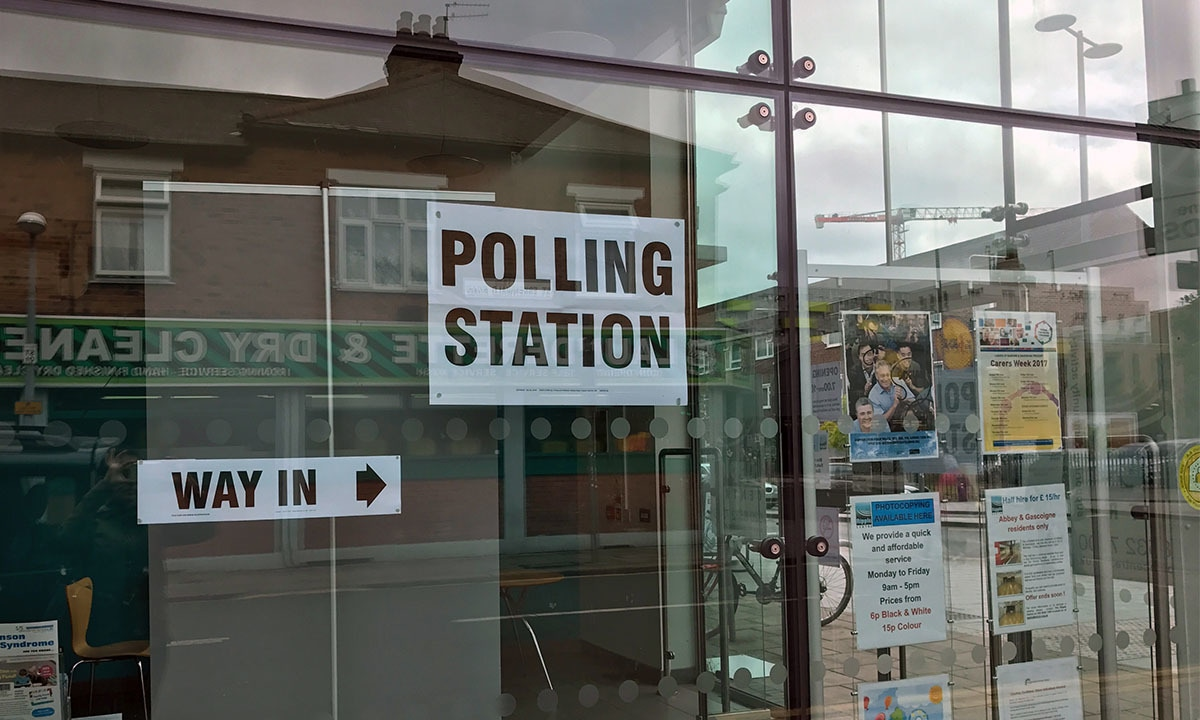 One of Barking borough's polling stations | Ritu Prasad