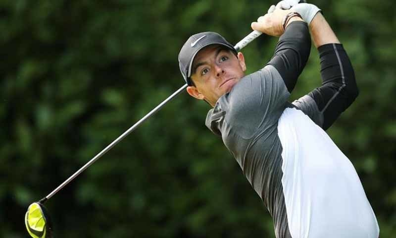 McIlroy in action. ─ Reuters