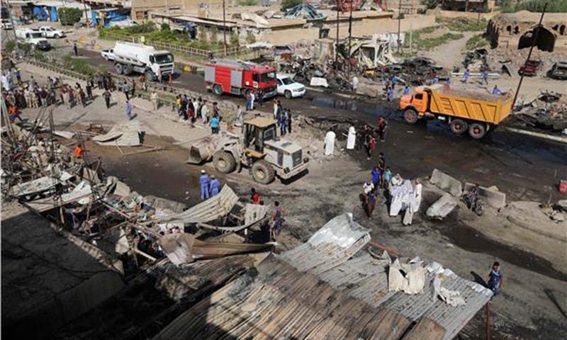 At least 30 killed in Iraq suicide blast