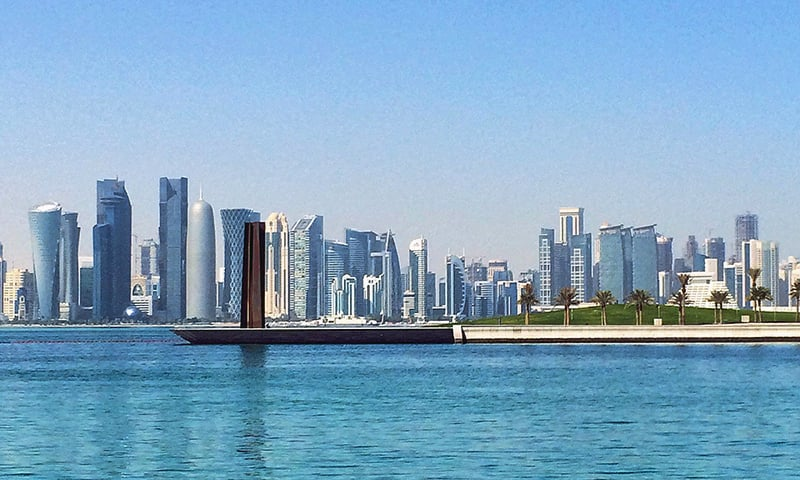 Qatar: My 12-hour layover in the world's most expensive art hub