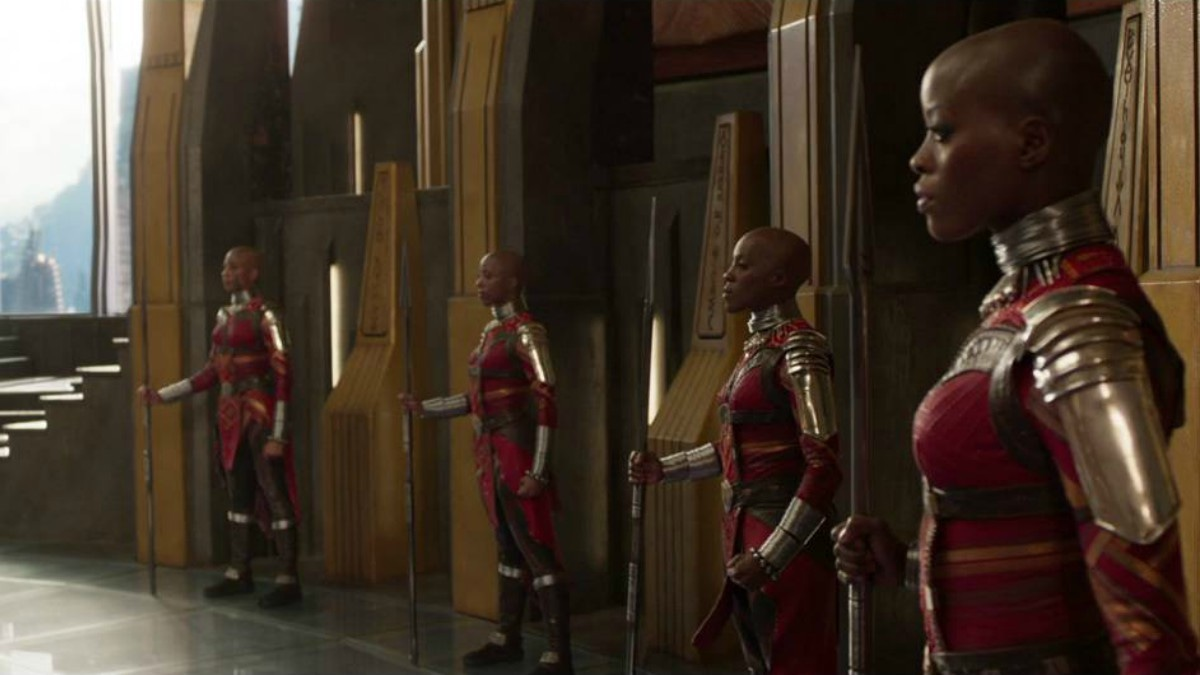 The Dora Milaje shots are excellent!