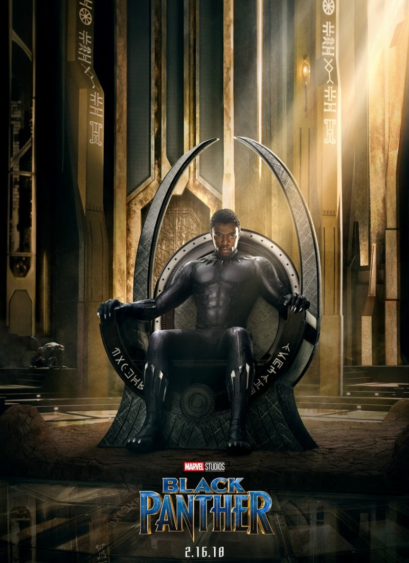 The poster for the Black Panther movie has us even more excited