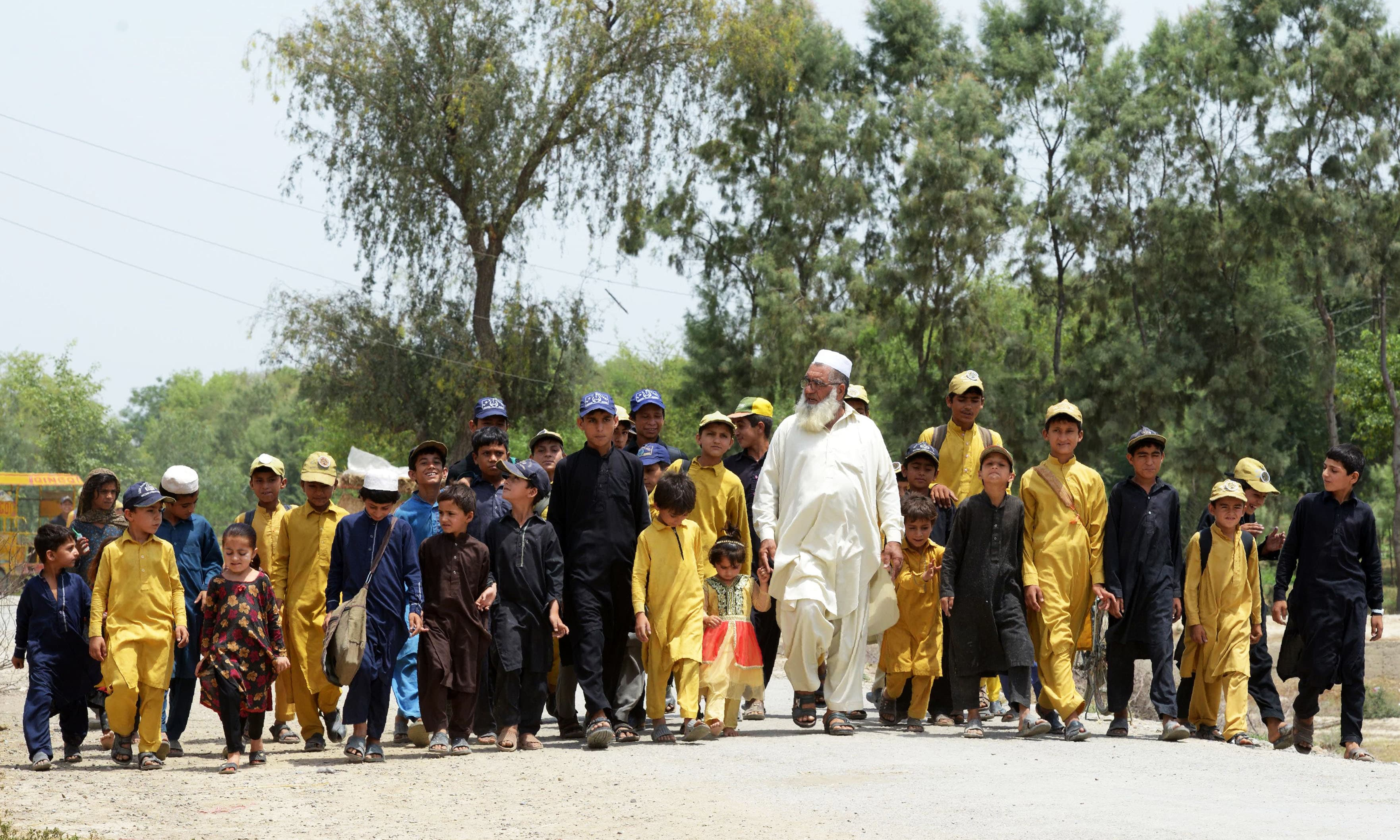 Nearing a century: Three men doing their bit for Pakistan's skyrocketing population