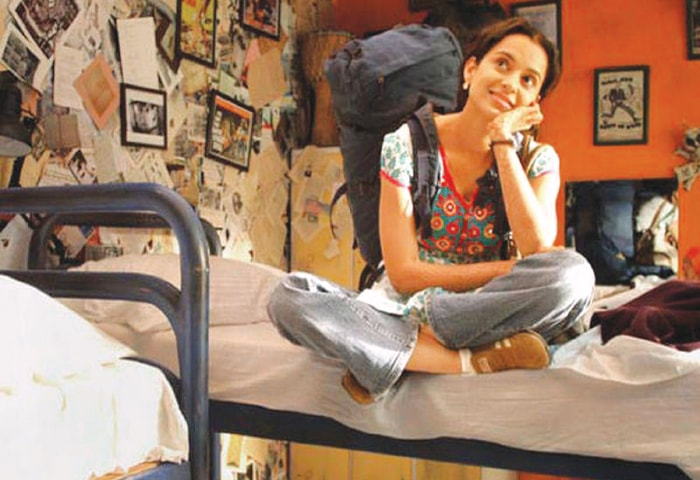Kangana Ranaut in a still from Queen, an offbeat, independent film that managed to resonate with the mainstream audience