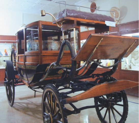 A horse drawn carriage used by the nawab of Bahawalpur