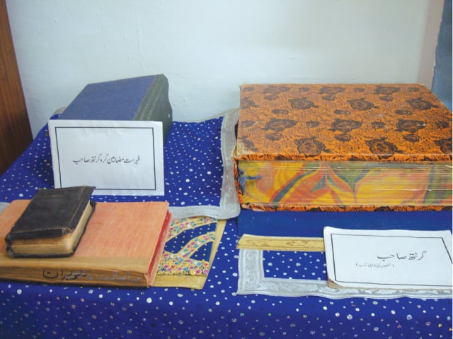Manuscripts of Guru Granth Sahib