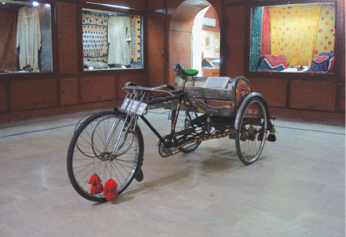 A symbol of oppression: the cycle rickshaw