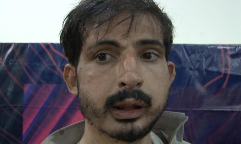 Gul Nazuq's old injury was aggravated after the scuffle. ─ DawnNews