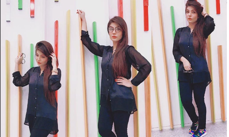 —فوٹو: فبیہا شیرازی انسٹاگرام