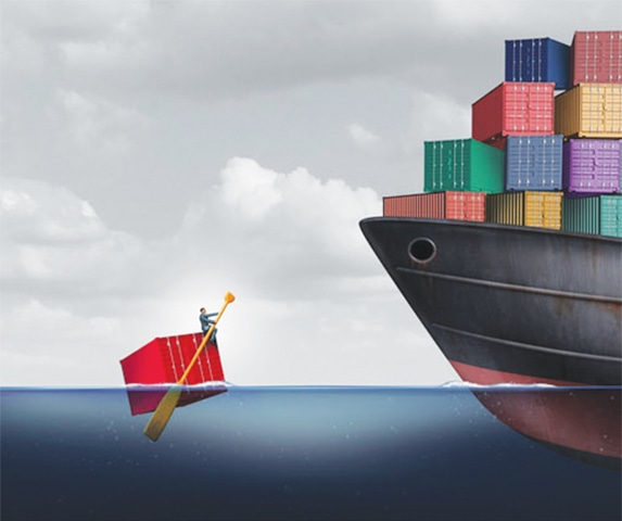 Revisiting export strategy in a shrinking world trade