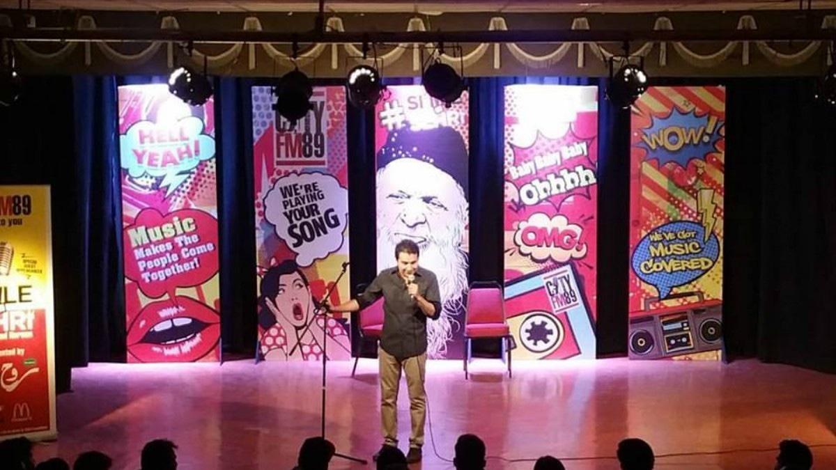 Saad Haroon hosting Smile Till Sehri