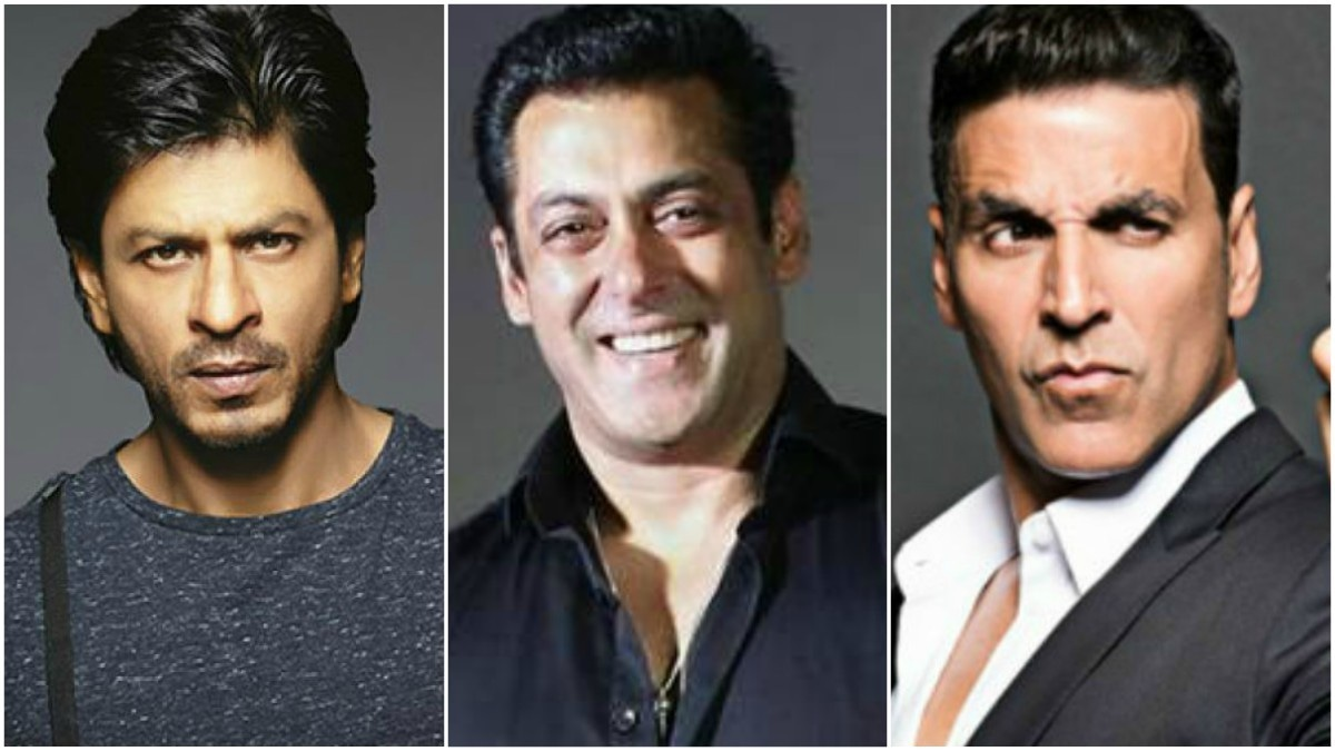Shah Rukh Khan, Salman Khan and Akshay Kumar in Forbes top 100 paid celebrities