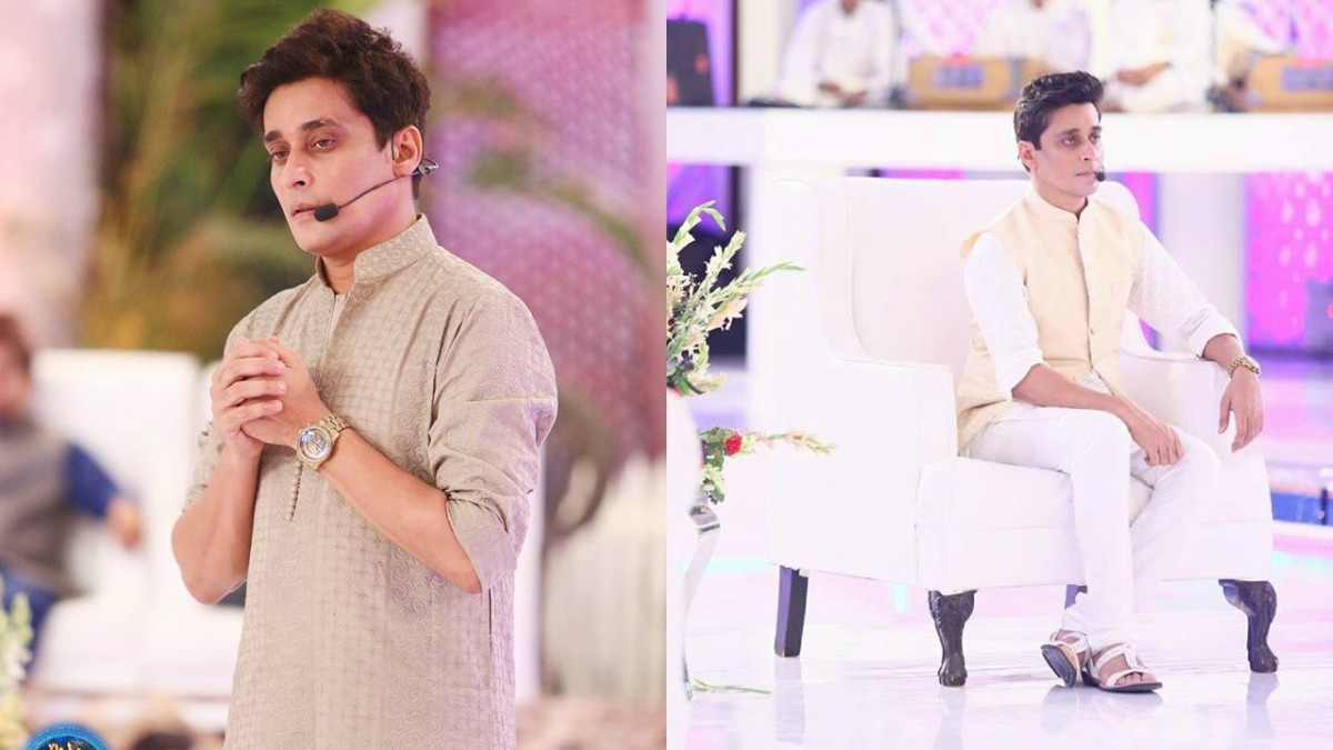 Sahir Lodhi clad in basic kurtas and straight pants.