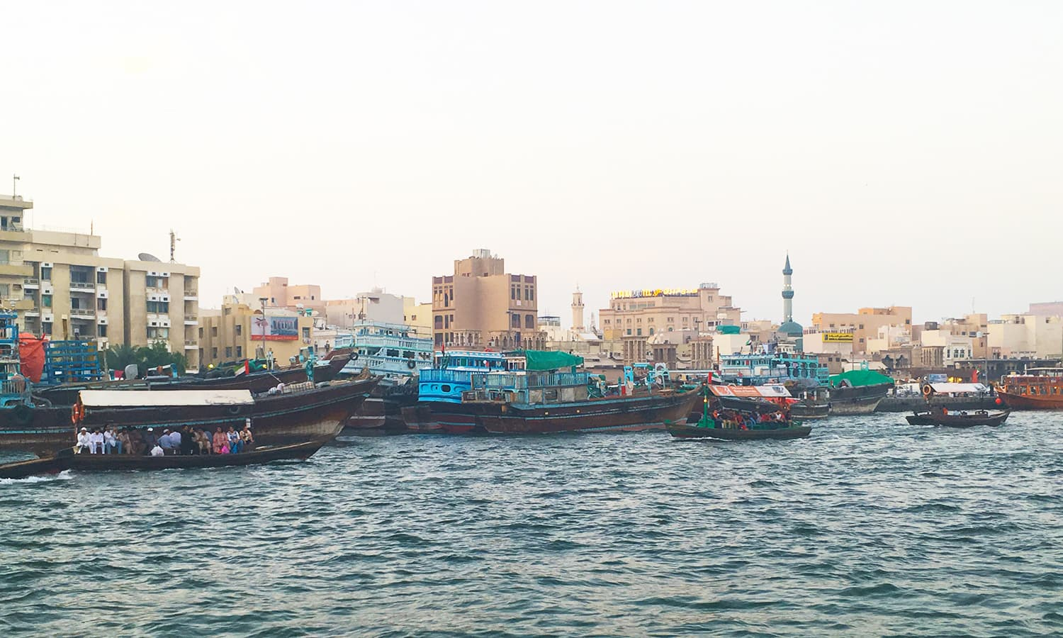 A view of old Deira's skyline from across the creek.