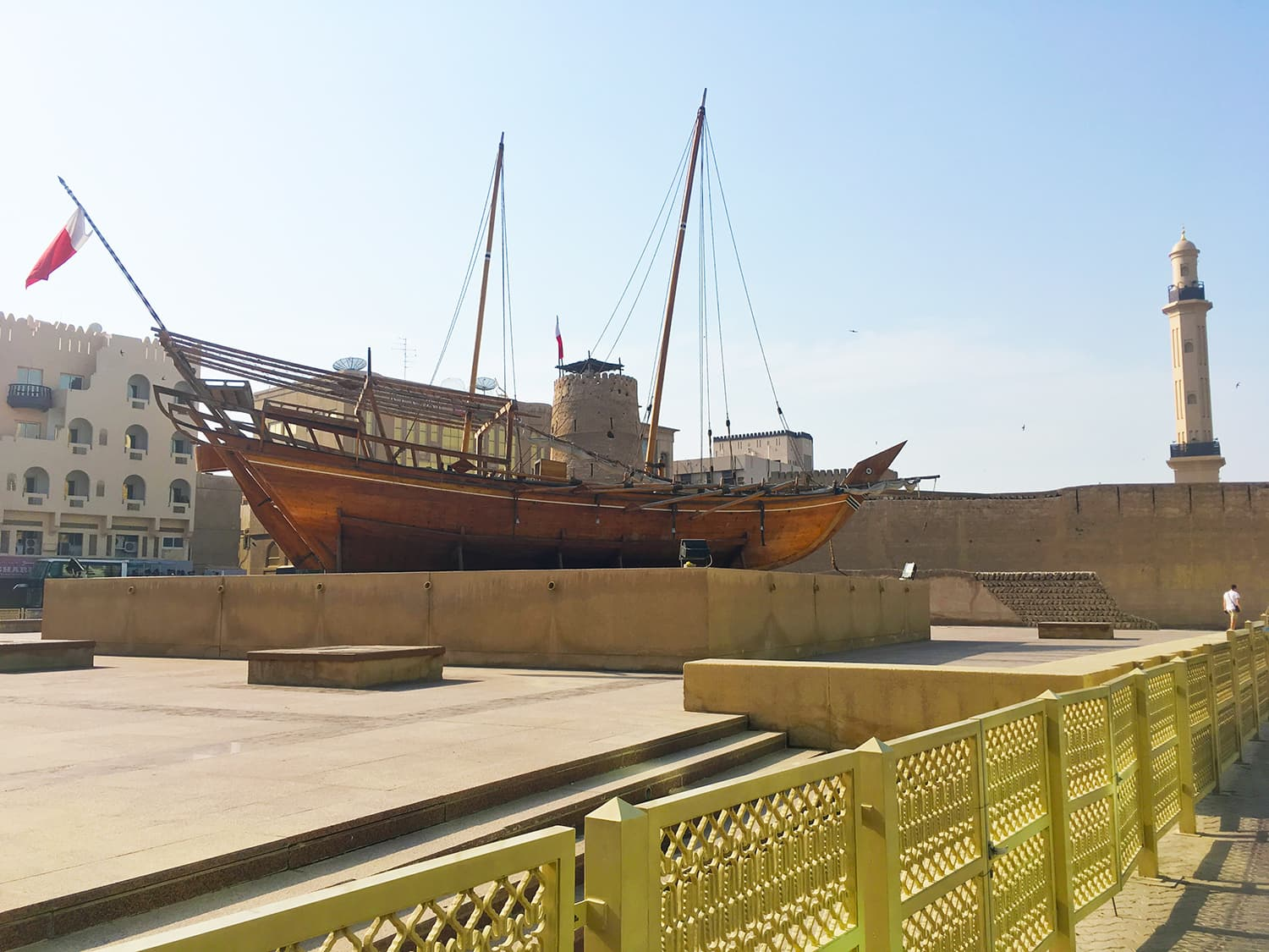 The Dubai Museum is one of the most recognised landmarks in Bur Dubai.