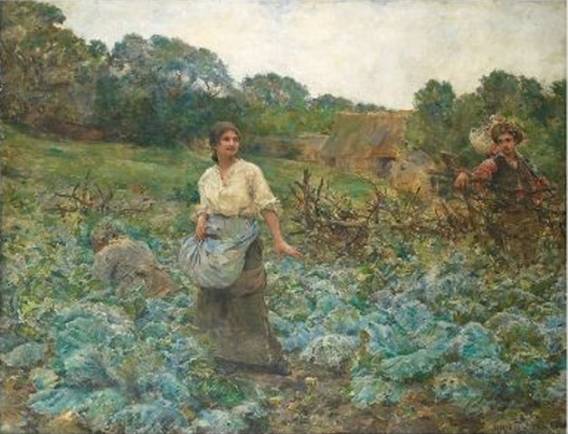 Spring Harvest, George Achille-Fould
