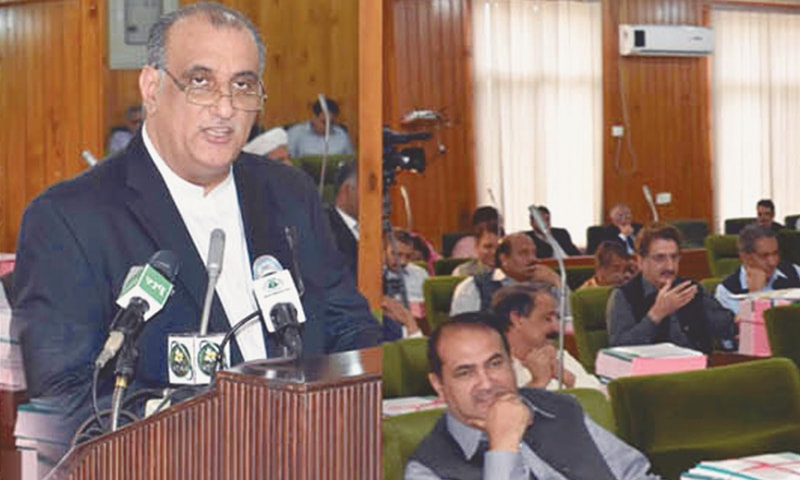 Finance Minister Dr Najeeb Naqi assures the house that the increase in pay and pensions announced by the federal government will also be given to the government employees in AJK.