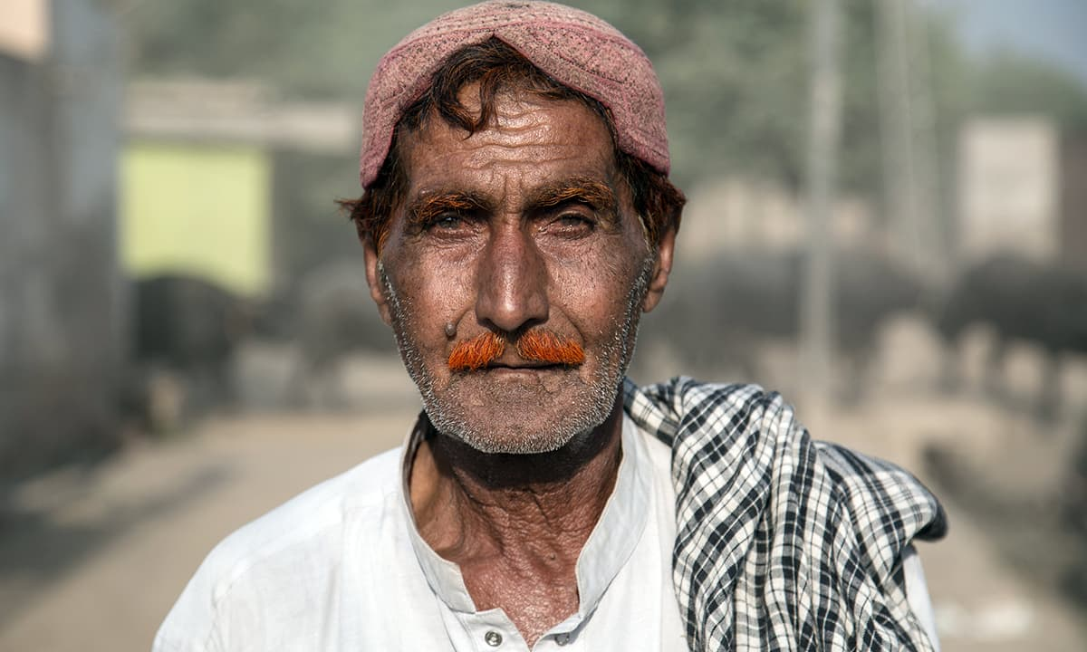 A local of Sann, Sindh