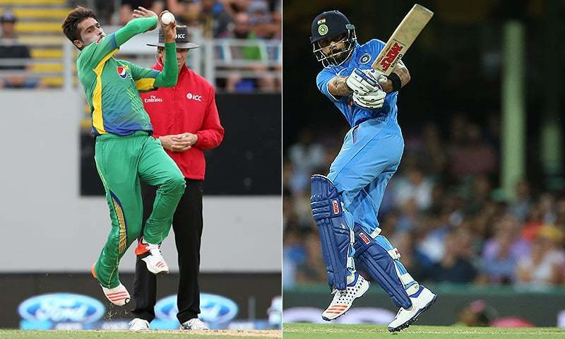 Pakistan's pace attack will go against India's batting powerhouse in the Sunday final. Photo: File.