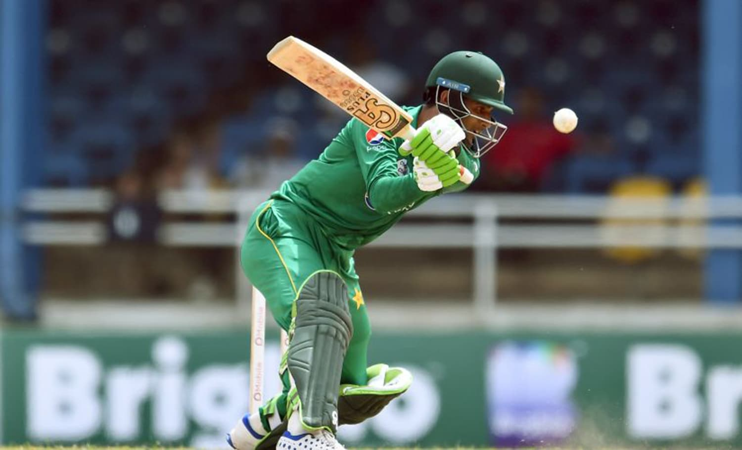 Fakhar Zaman is Pakistan's second best run-getter in the tournament, with 138 runs in three innings, behind Azhar Ali – Photo: AFP.
