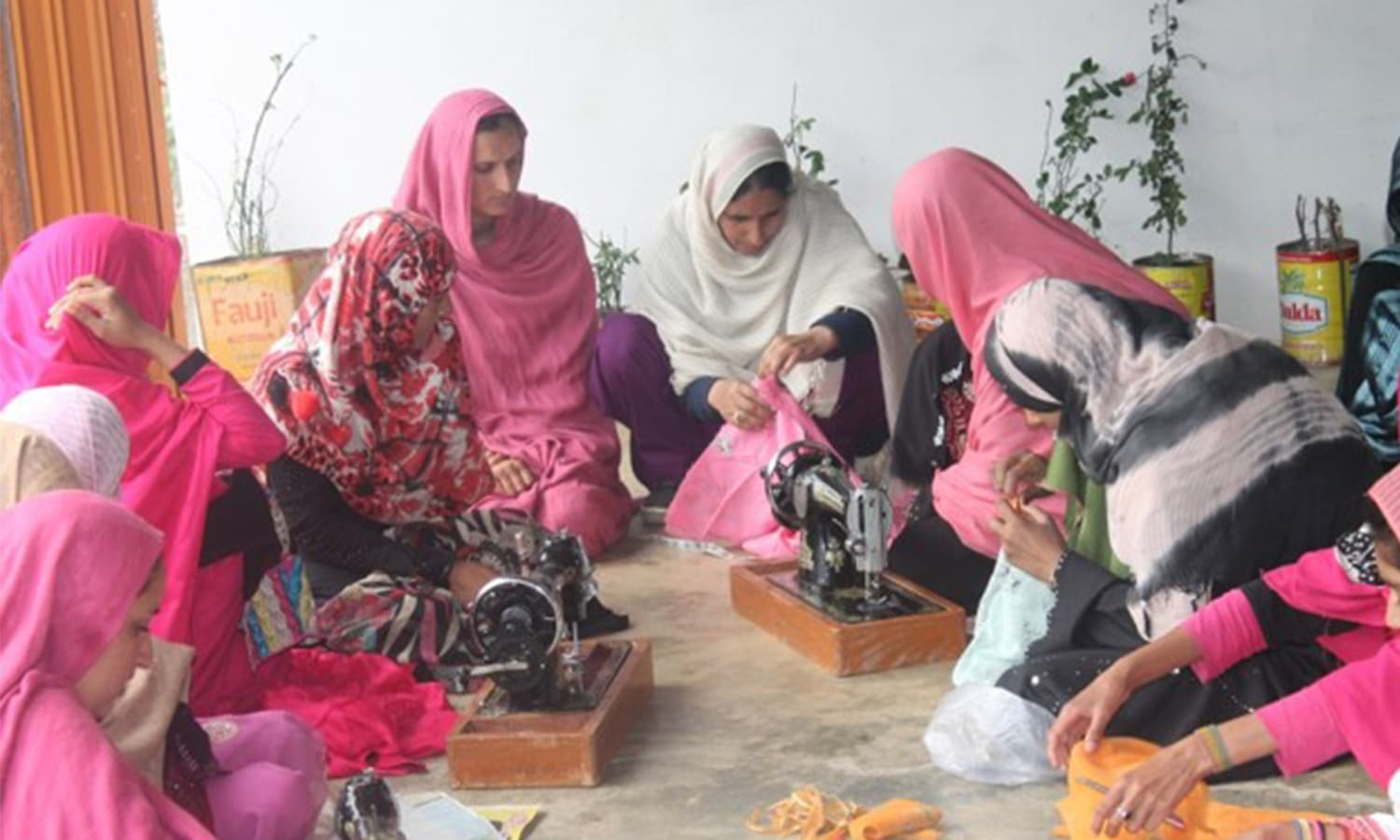 Vocational centres have provided women a chance to generate revenue of their own. — WWF Pakistan/The Coca Cola Company