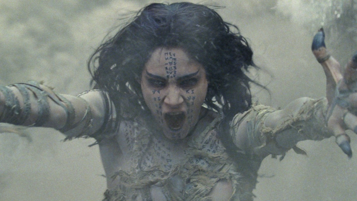 The Mummy is about the coming back to life of an ancient Egyptian princess, Ahamnet