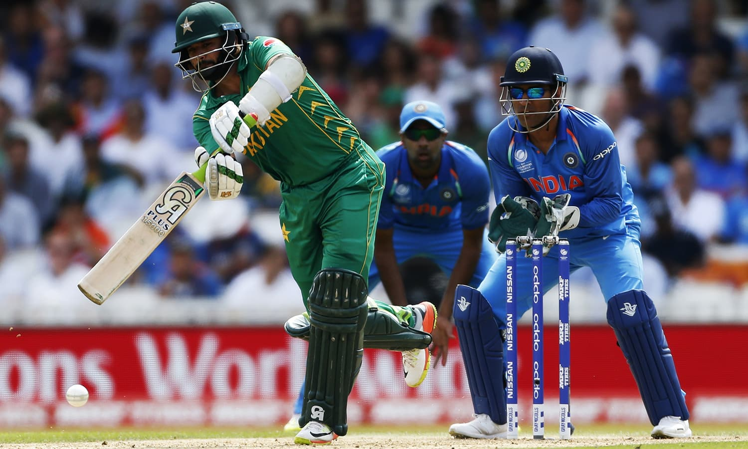 Azhar Ali in action.─Reuters