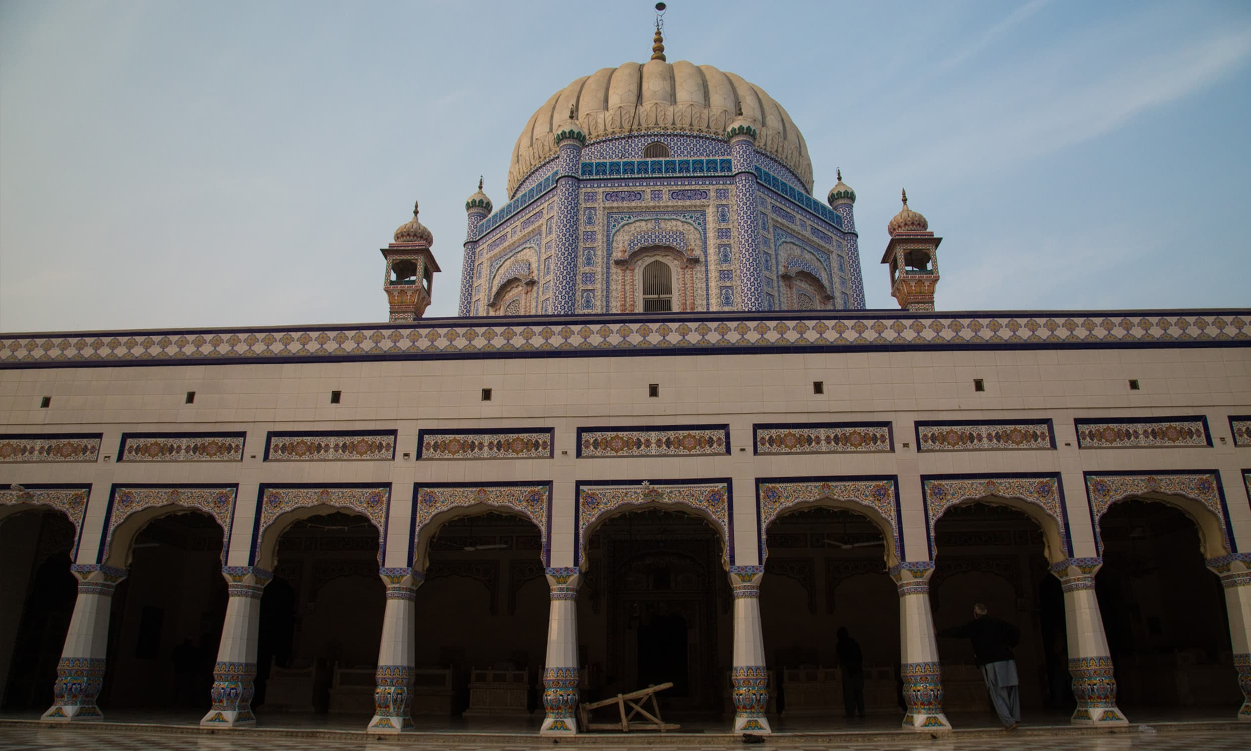 Shrine of Muhammad Suleman Taunsvi in Taunsa Sharif