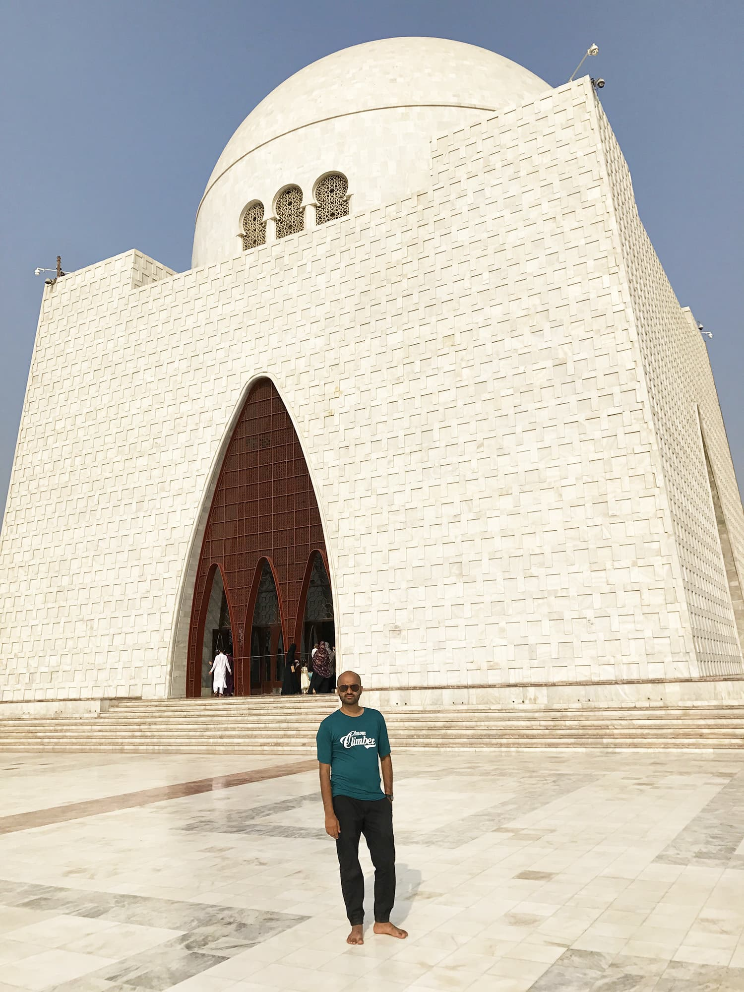 I even had the chance to visit the grand Mazar-e-Quaid in Karachi.